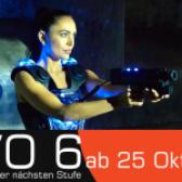 Lasertag spielen mit EVO6 im Funnymotion